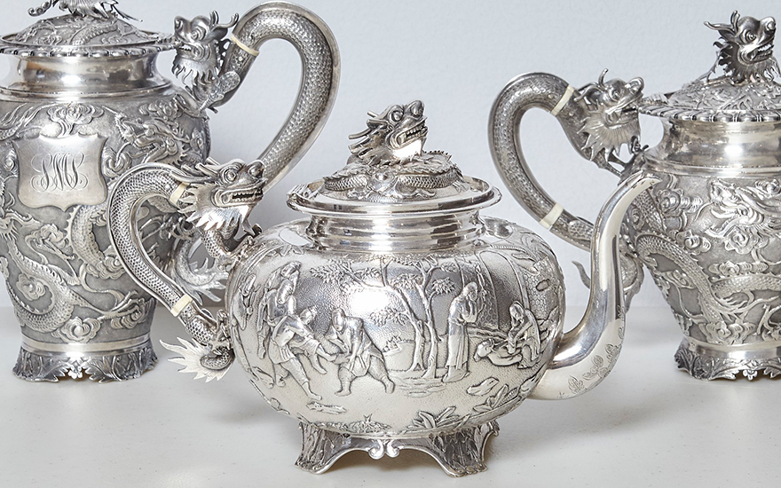 Chinese export silver – a guid