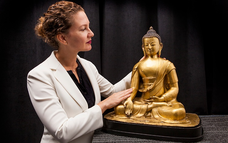 5 minutes with... A Nepalese b auction at Christies