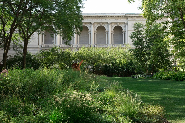 The Art Institute of Chicago. North Stanley McCormick Memorial Garden. Courtesy of The Art Institute of Chicago