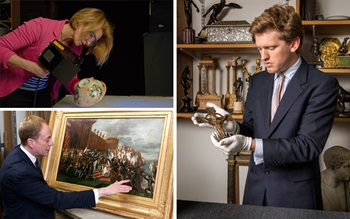 How is an artwork appraised? auction at Christies