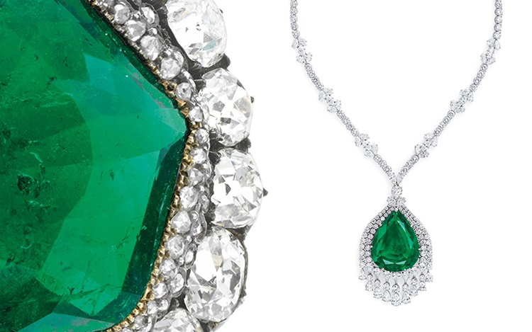 'Love is an emerald' — 10 hist auction at Christies