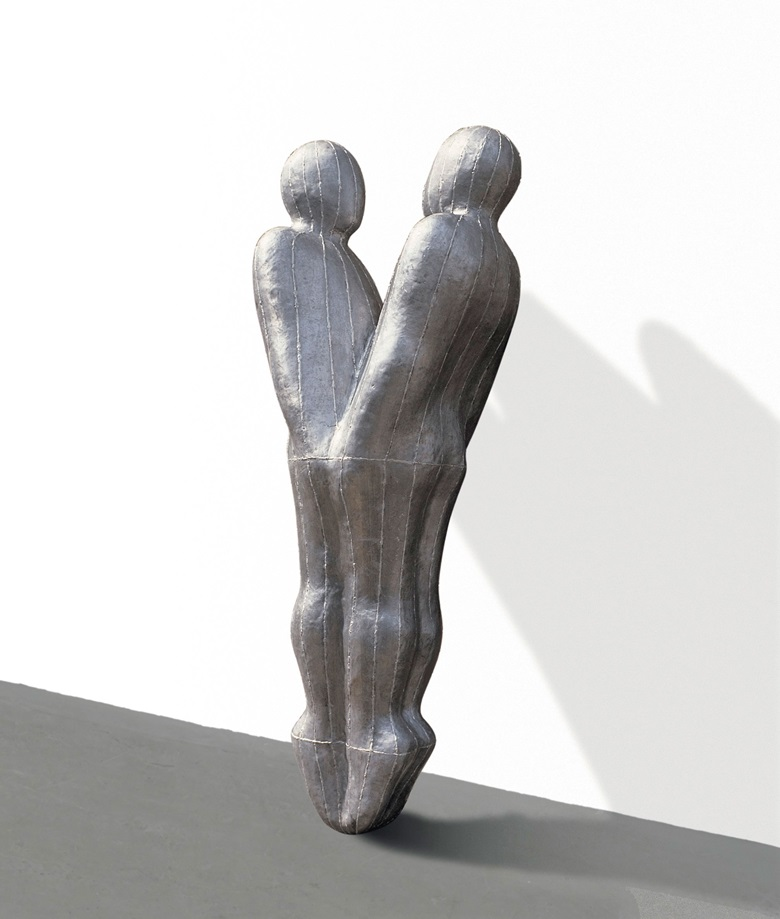 Antony Gormley, Growth, 1987. Lead, fibreglass, plaster and air. 23¾ x 31½ x 24½ in (60 x 80 x 62cm). Estimate £500,000-700,000. Offered in the Post-War and Contemporary Art Evening Auction on 4 October 2019 at Christie's in London