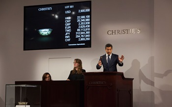 Asian Art Week in New York tot auction at Christies