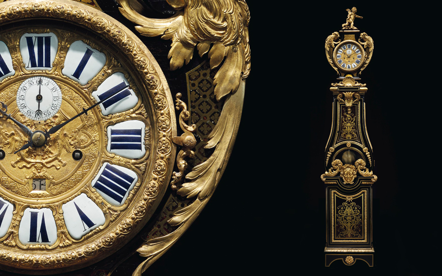 French clocks of the 17th-19th