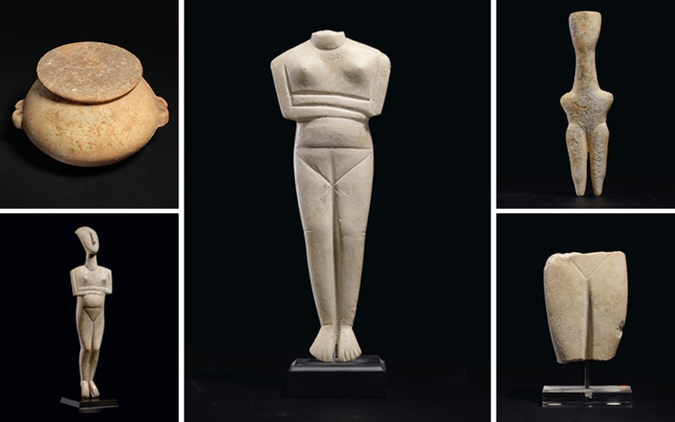 Collecting guide: Cycladic art auction at Christies
