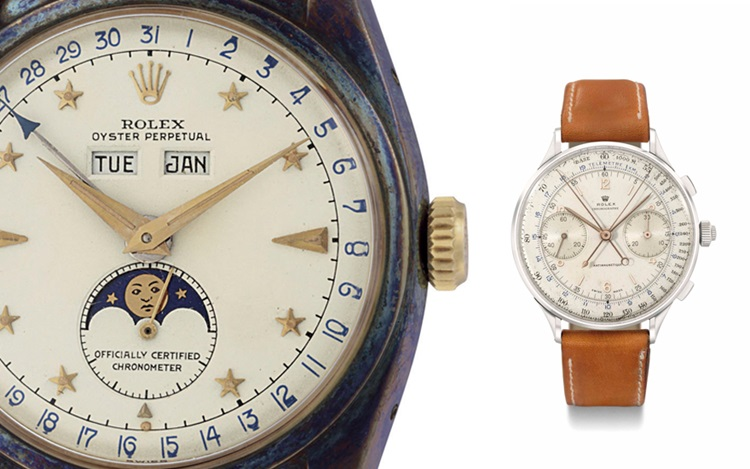 10 Rolex references to die for auction at Christies
