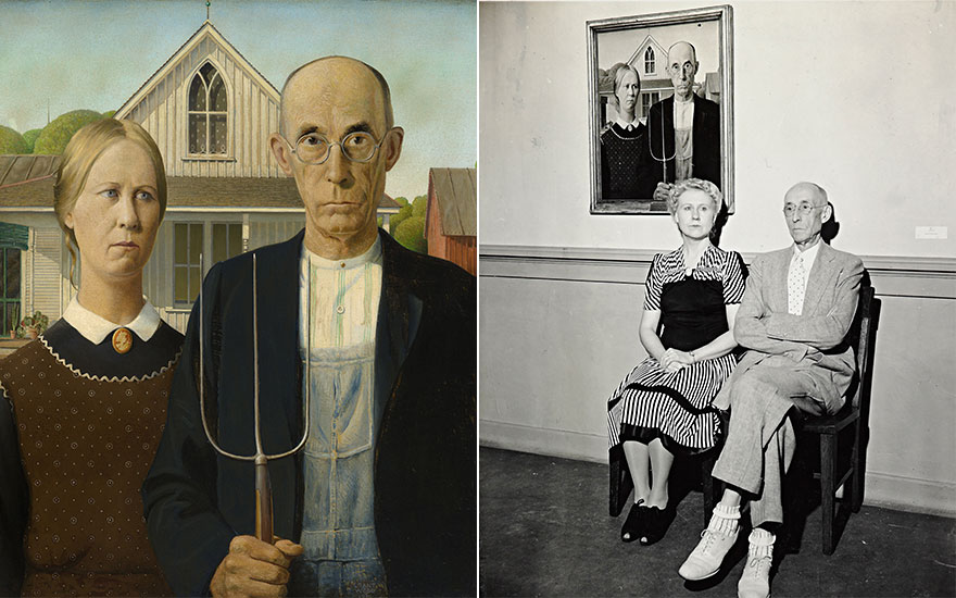 American Gothic — Grant Wood's