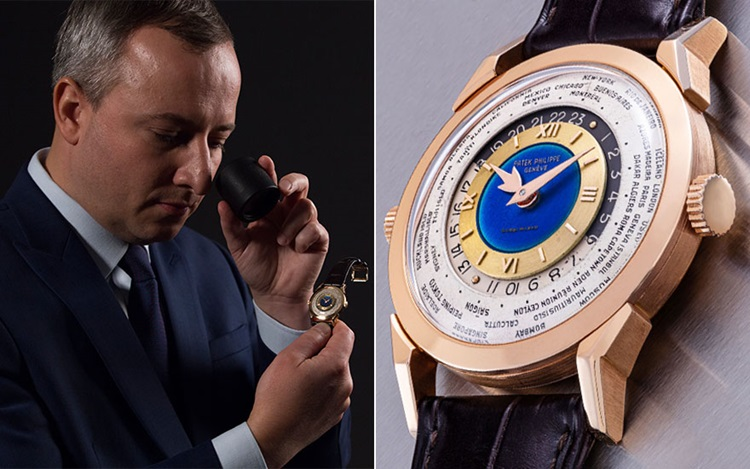 5 minutes with… A Patek Philip auction at Christies