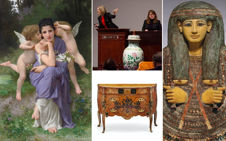 Classic Week in New York achie auction at Christies