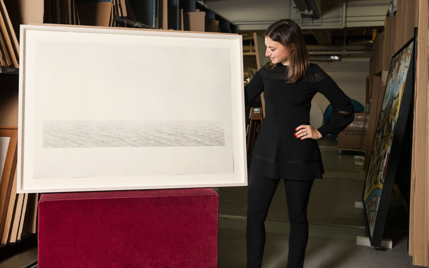 5 minutes with... Vija Celmins