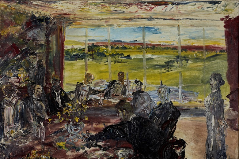 Jack Butler Yeats (1871-1957), Evening in Spring, 1937. Oil on canvas. 24 x 36 in (60.96 x 91.44 cm). Estimate €500,000-700,000. Offered in the Ernie O'Malley Collection in association with Christie's on 25 November at Whytes in Dublin