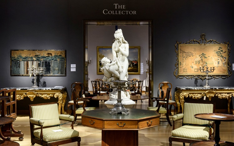 Virtual tour: The Collector at auction at Christies
