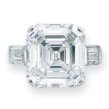An important diamond ring. Estimate HK$6,800,000-9,500,000. Offered in Hong Kong Magnificent Jewels on 26 November 2019 at Christie's in Hong Kong