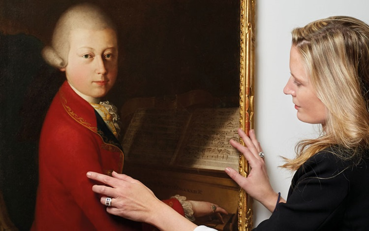 5 minutes with… A rare portrai auction at Christies