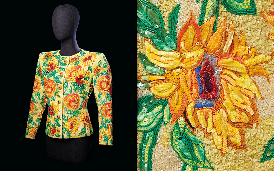 5 minutes with... Yves Saint Laurent's 'Sunflowers' jacket