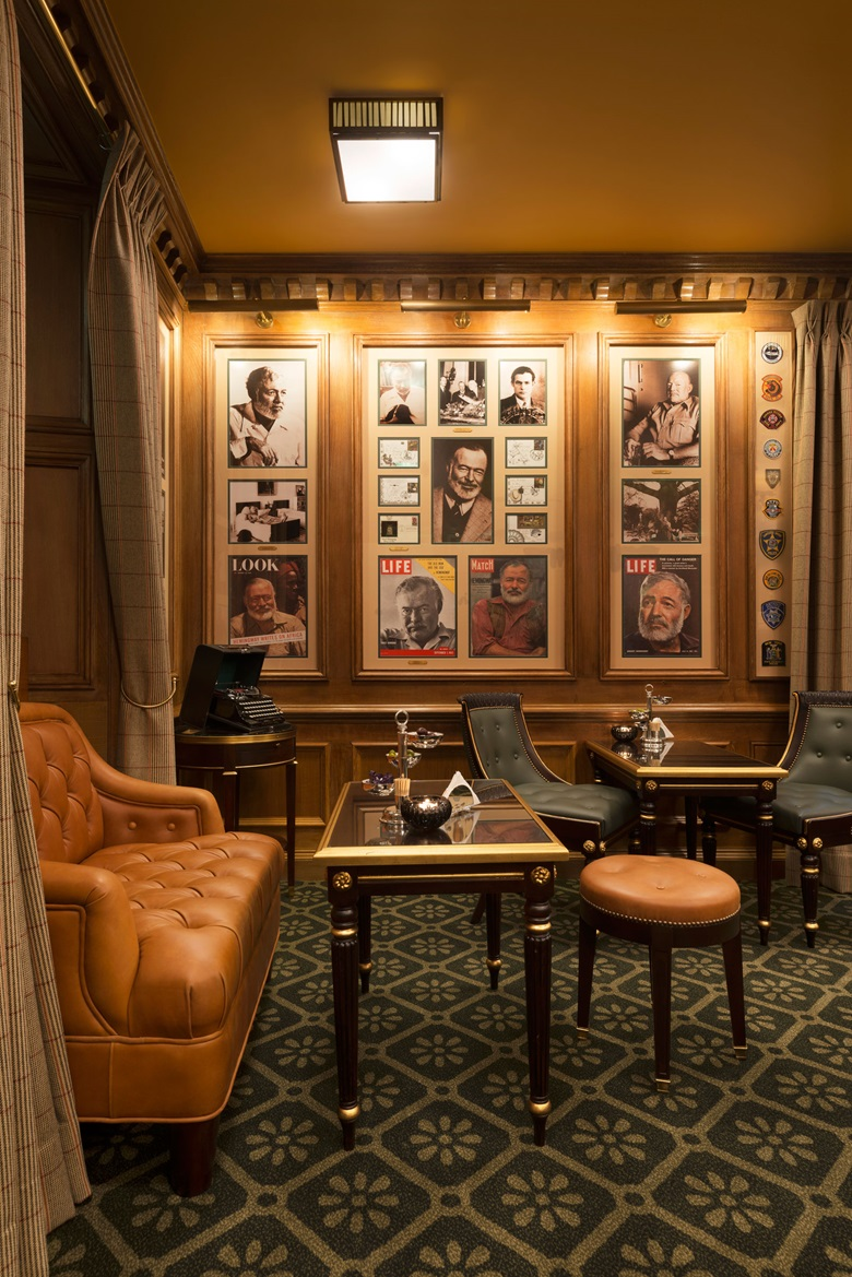 Bar Hemingway at the Ritz Hotel in Paris. Photograph © Vincent Leroux