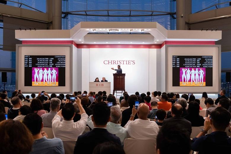常玉《五裸女》以303,985,000港元成交,大幅刷新藝術家拍賣世界紀錄