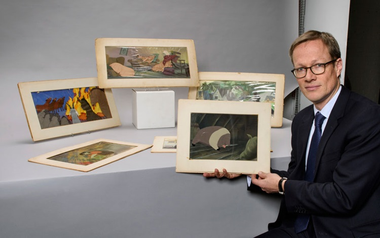 5 minutes with... Animation ar auction at Christies