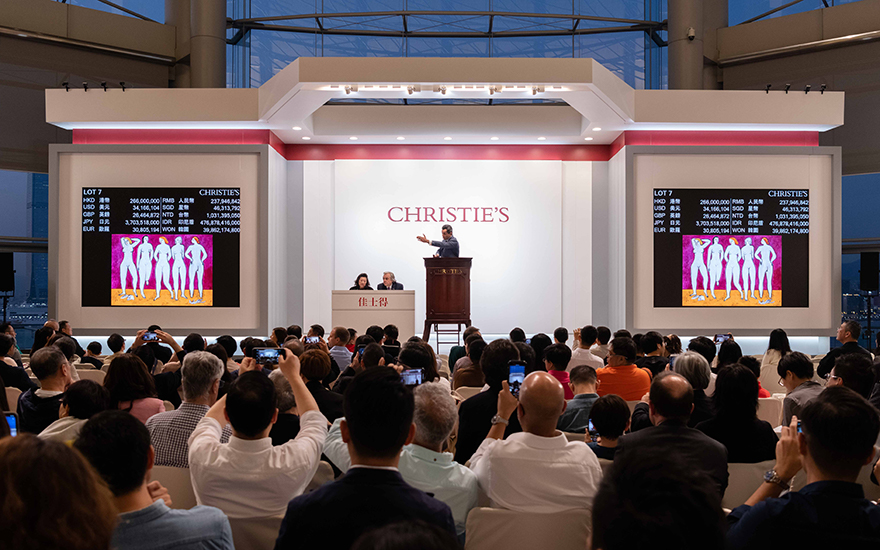 Autumn 2019 auctions in Hong K