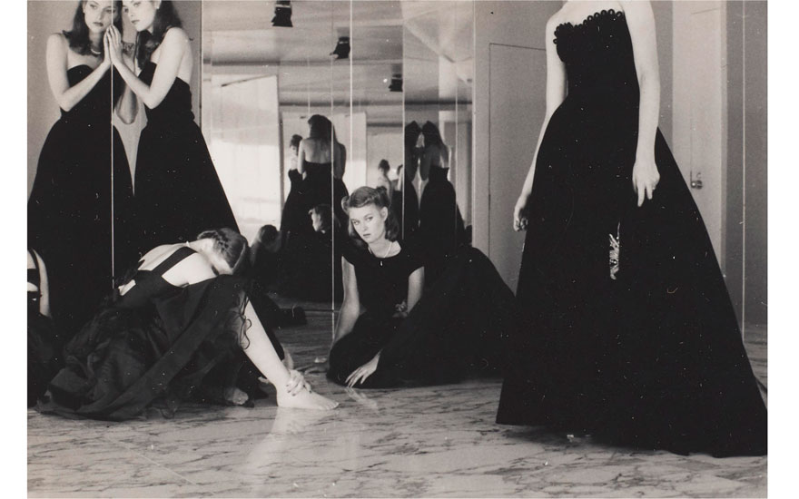 Deborah Turbeville (1932-2013), Untitled Fashion Study, c. 1975. Mount 6⅞ x 7⅝ in (17.4 x 19.2 cm). Estimate $1,000-1,500. Offered in Fashion Photo, 2-11 December 2019, Online