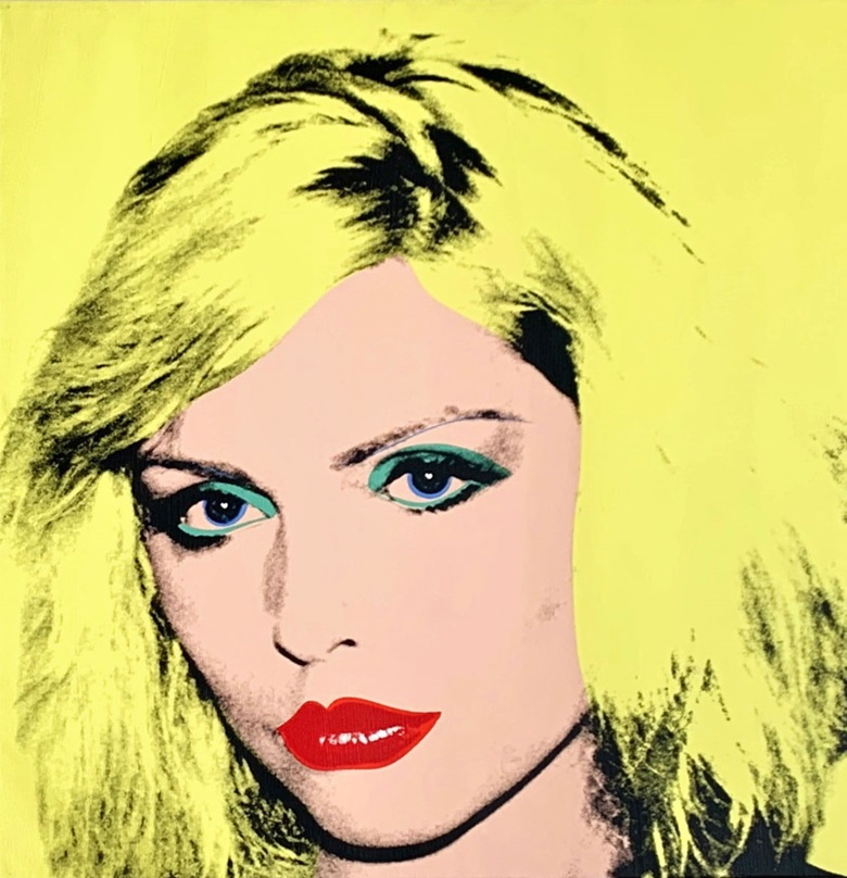 Andy Warhol (1928-1987), Debbie Harry, 1980. Private Collection of Phyllis and Jerome Lyle Rappaport 1961. © 2019 The Andy Warhol Foundation for the Visual Arts, Inc  Artists Right Society (ARS), New York and DACS, London