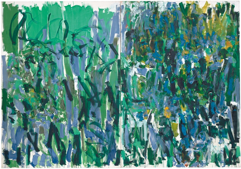 Joan Mitchell, No Rain, 1976. Collection of The Museum of Modern Art (MoMA). © Estate of Joan Mitchell