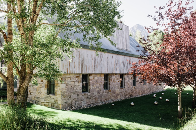 Catherine Walsh's Colorado mountain home, which was designed for her by John Pawson