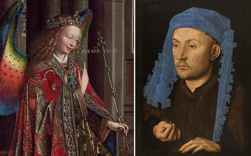Why Van Eyck: An Optical Illus