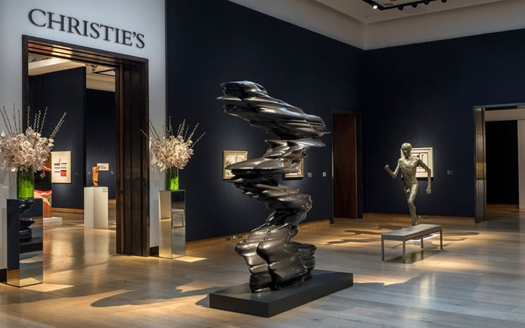 Virtual tour: Modern British A auction at Christies