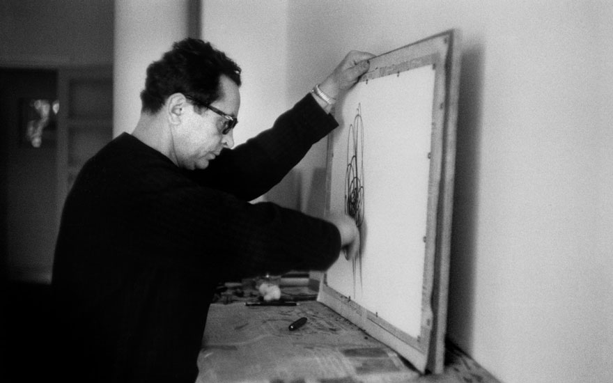 For Hans Hartung, art was the