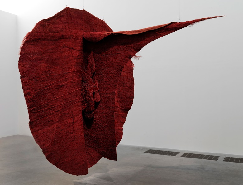 Appearing in Magdalena Abakanowicz at Tate Modern, London (17 June to 13 September) Magdalena Abakanowicz (1930-2017), Abakan Red, 1969. Tate Collection. © Magdalena Abakanowicz Foundation