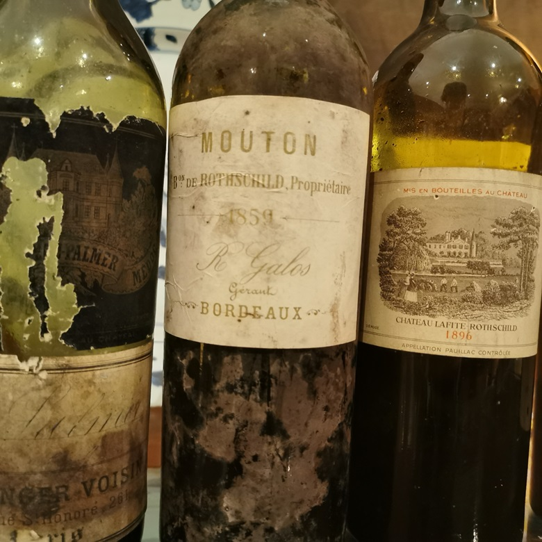 The 1859 Mouton was as spellbinding as wine gets