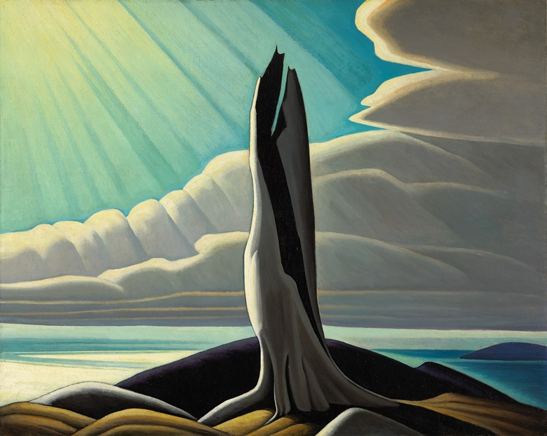 Lawren S. Harris, North Shore, Lake Superior, 1926. Oil on canvas. 102.2 x 128.3 cm. National Gallery of Canada, Ottawa. © Family of Lawren S. Harris. Photo NGC