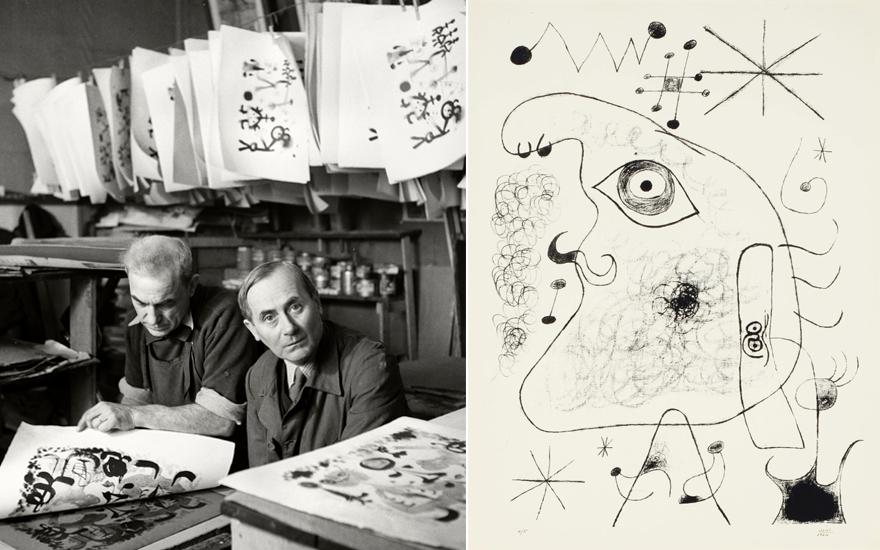 Joan Miró's adventures in pri