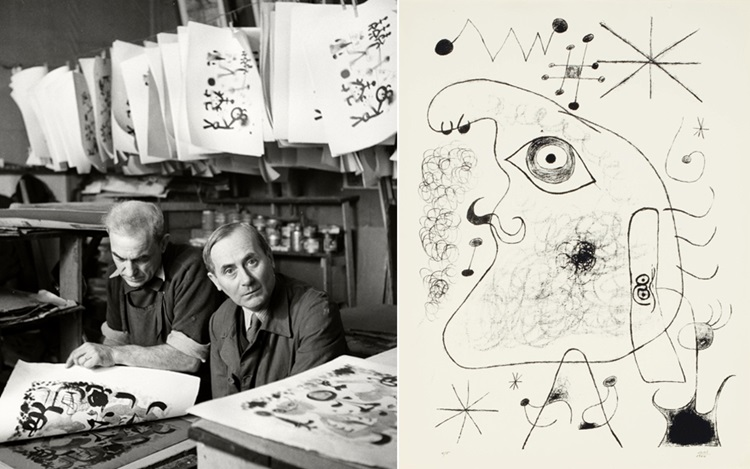 'A loving dialogue': Joan Miró auction at Christies