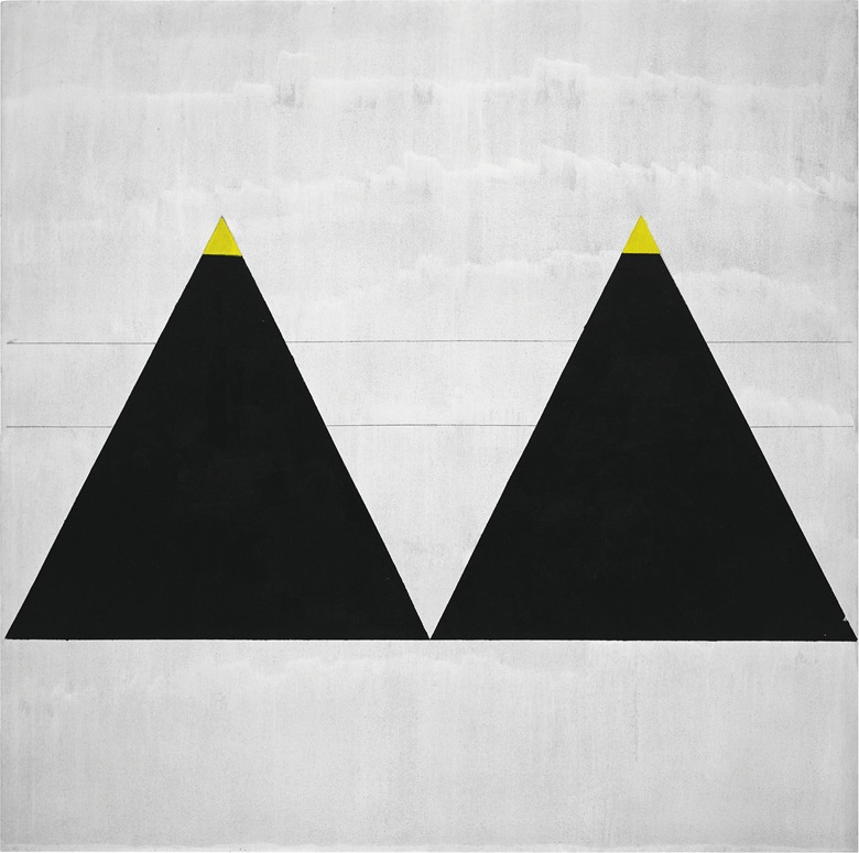 Agnes Martin (1912-2004), Untitled #1, 2003. Fondation Louis Vuitton, Paris © 2015 Agnes Martin  Artists Rights Society (ARS), New YorkDACS, London