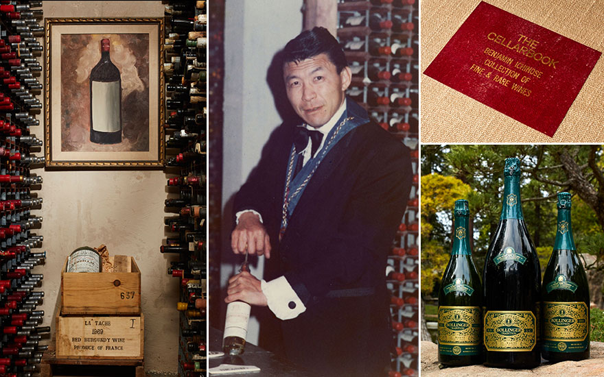 'When I saw Ben Ichinose's cellar, I recognised immediately that it was one of the greatest wine cellars in the world'