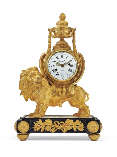A late Louis XV ormolu and ebonised mantel clock, circa 1760. Estimate $4,000-6,000. Offered in The Collector, 28 April-7 May, Online