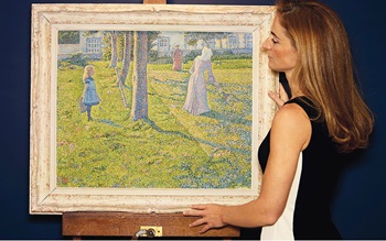 How van Rysselberghe's paintin auction at Christies