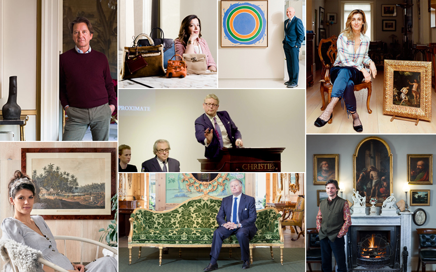 I bought it at Christie's — what it feels like to win at auction