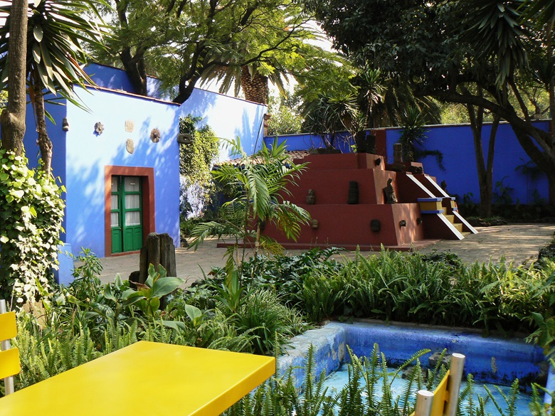 The Frida Kahlo Museum in Mexico City. Photo © Janet Mary CookBridgeman Images