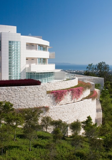 The Getty Center. Photo Stacey Rain Strickler. © J. Paul Getty Trust