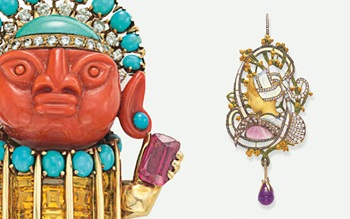 10 jewellery designers you rea auction at Christies