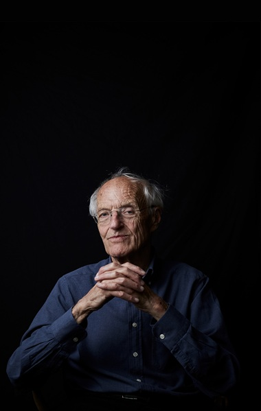 Award-winning playwright and author Michael Frayn. Photo Jack Harries