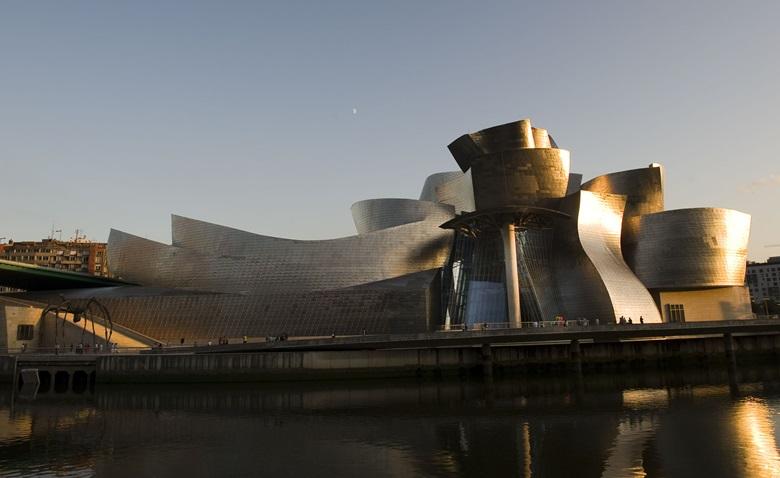 View of the Guggenheim Museum Bilbao. Photo Courtesy of Museo Guggenheim Bilbao
