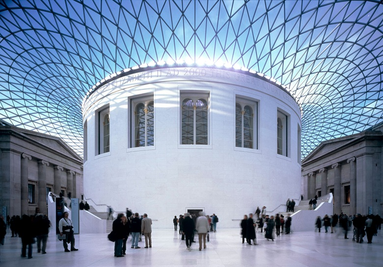 The Reading Room in the Great Court of the British Museum. Photo © Trustees of the British Museum
