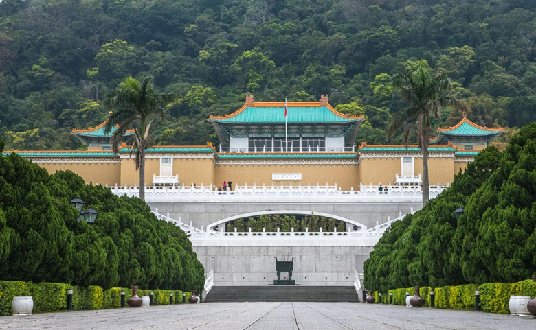 The National Palace Museum in Taipei. Photo Alamy