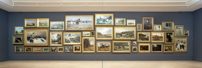 The Salon Gallery at NGV International, the National Gallery of Victoria. Photo NGV Photographic Services