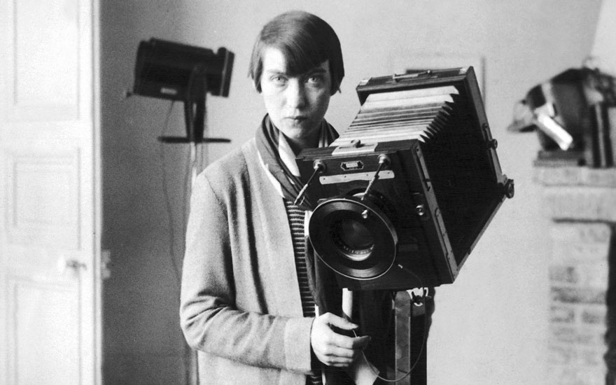 The influential documentary photographer Berenice Abbott. Photo Keystone-FranceGamma-KeystoneGetty Images