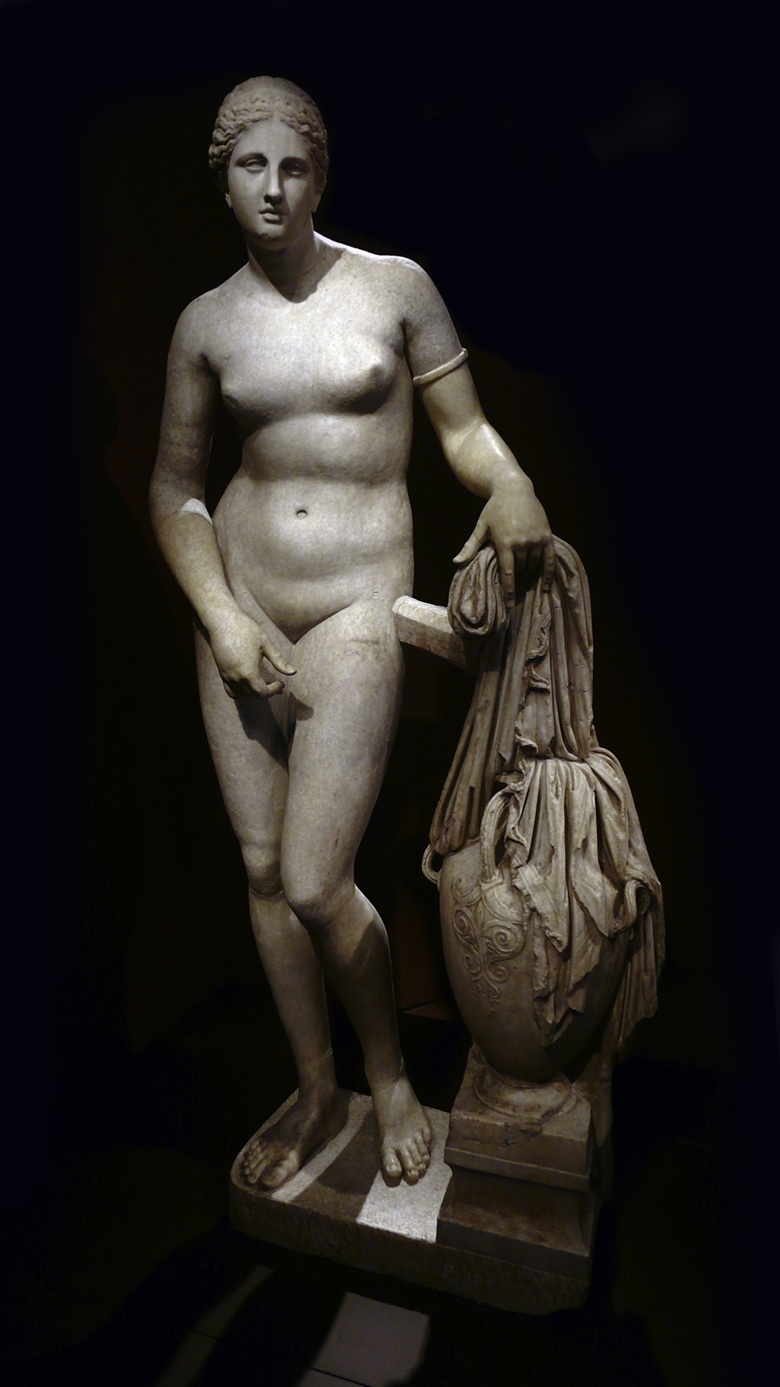Art Detective considers the impact of Praxiteles' long lost Aphrodite of Venus, the inspiration for the Colonna Venus, 138-161 AD, held in the Vatican Museum in Rome. Photo AKA-imagesJH-Lightbox Ltd.John Hios
